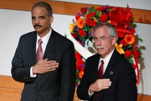 Eric Holder and Kenneth Melson